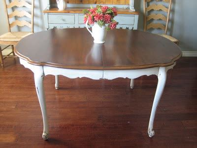 cottage kitchen tables european paint finishes cottage dining table 2661