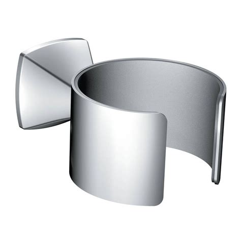 Moen Voss Wall Mount Tub Faucet by Moen Voss Wall Mounted Hair Dryer Holder In Chrome