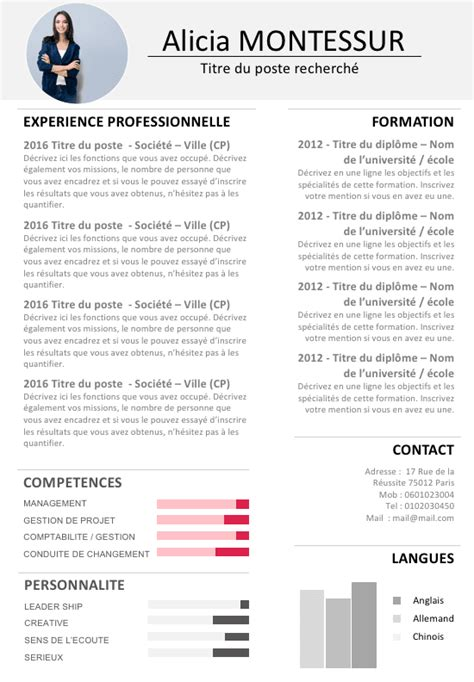 Cv Conseil by Conseil Cv Manager