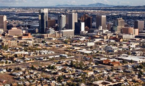 phoenix ranks second in us in population growth from 2016