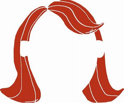 Hair Clip Wig Clipart Cliparts Straight Clipartion