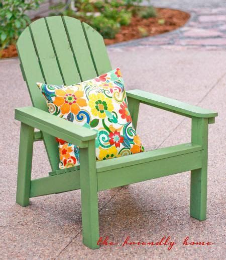 another simple adirondack chair build your own with free