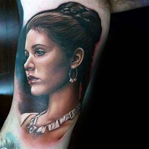 portrait tattoos  men realistic design ideas