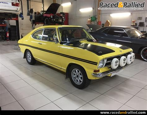 Opel Kadett Rallye For Sale by Opel Kadett B Coupe Rally Rally Cars For Sale At Raced