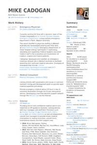 emergency medicine physician resume emergency resume sles visualcv resume sles database