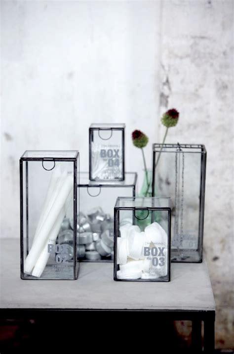 House Doctor Boxen by House Doctor Glazen Box Een Musthave Voor In Huis
