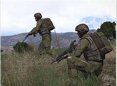 Солдаты, диверсанты и оружие АК107, АК105, РПК, СВУ