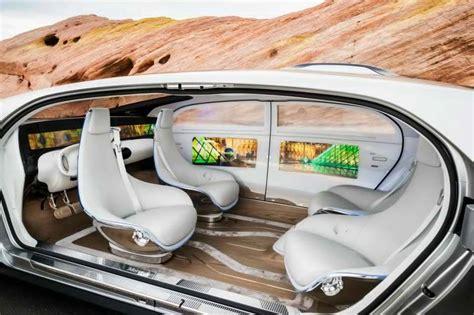 A Peek Inside The Mercedes F 015 Luxury In Motion