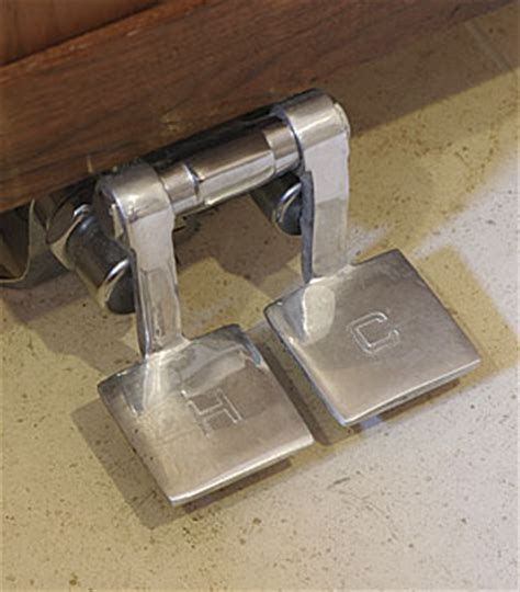 foot pedal powered faucet fine homebuilding