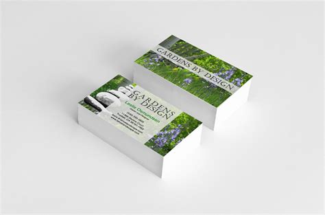 gardens by design business card d4 advanced media