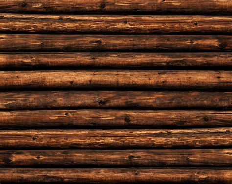 log cabin backdrop