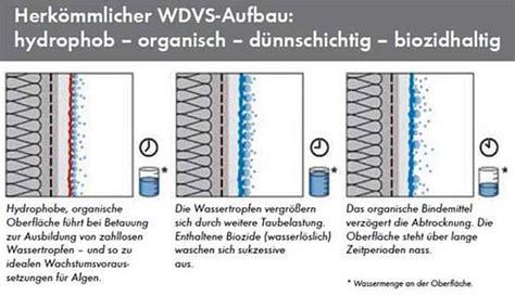 Merkblatt Waermedaemmung by Algen An Fassaden Keimfarben