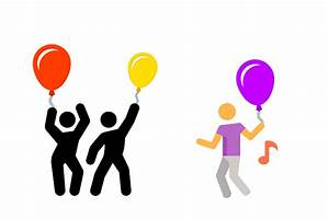 Party Balloons Icon - free download, PNG and vector
