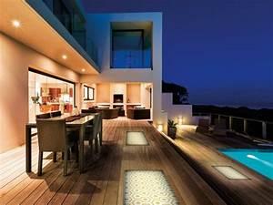 Eclairage Terrasse Piscine : clairage ext rieur design et luminaires tendance du moment ~ Preciouscoupons.com Idées de Décoration