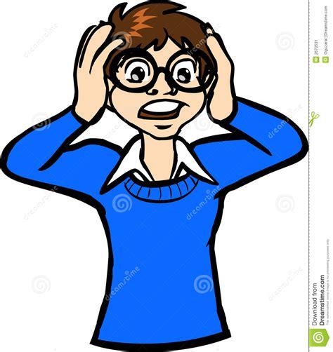 Olycklig pojke vektor illustrationer. Illustration av ...