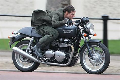 Tom Cruise And His Motorcycle Movie Passions