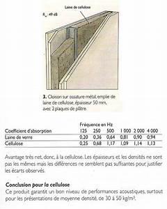 Isolation Phonique Cloison : isolation phonique et acoustique eco logis ~ Melissatoandfro.com Idées de Décoration