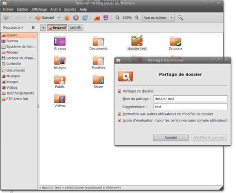 ubuntu partage de bureau partage ubuntu windows 7 protégé par mot de passe accès
