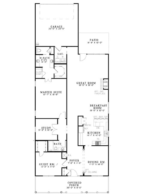 foremost country home plan   house plans