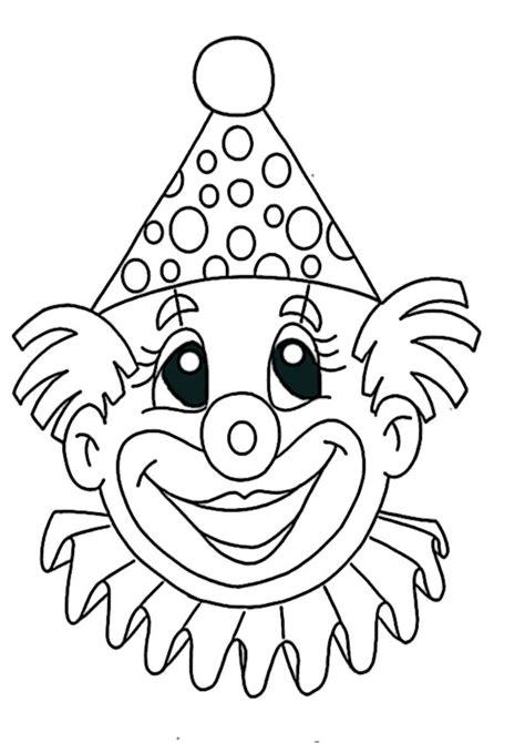 ausmalbilder clown  ausmalbilder malvorlagen