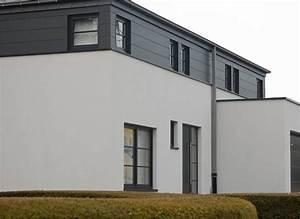 atelier d39architecture l39arche claire With maison crepis blanc et gris