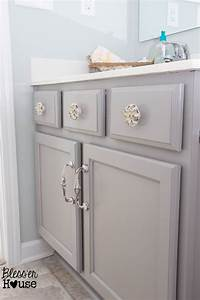 the beginner39s guide to painting cabinets With how to paint bathroom cabinets white
