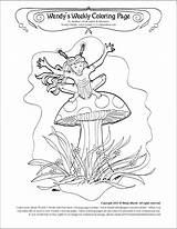 Coloring Pages Brownie Toadstool Archive sketch template