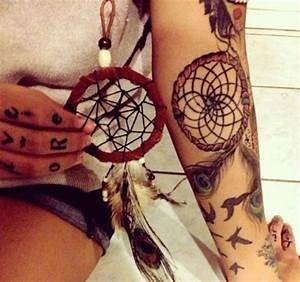 Tatouage Attrape Reve Signification : tatouage attrape reve pour femme les 70 beaux mod les ~ Melissatoandfro.com Idées de Décoration