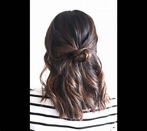 Coiffure Pour Cheveux Mi Longs : ces coiffures faciles et originales pour les cheveux mi longs puretrend ~ Melissatoandfro.com Idées de Décoration