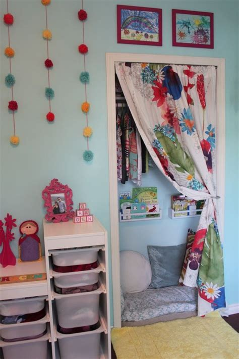 17 best ideas about closet reading nooks on