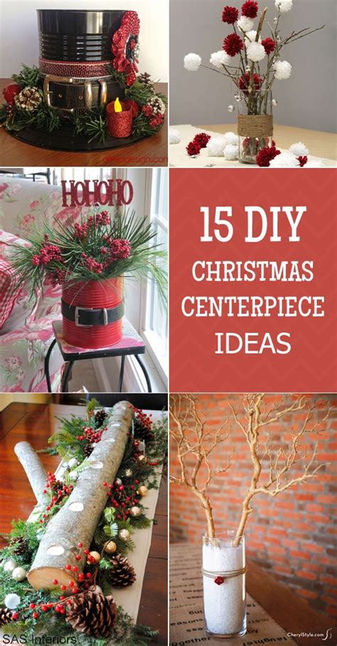 easy  stunning christmas centerpiece ideas