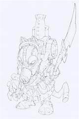 Dwarves Rackham Confrontation Bor Concept Edouardguiton Robot Tir Edouard Guiton Rysunki Narok Rag Zapisano Fullsize Coloring sketch template