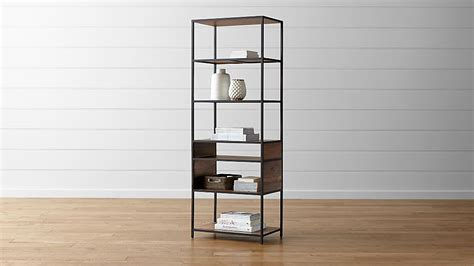 knox tall open bookcase reviews crate  barrel