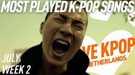[top 40] Most Played K-pop Songs