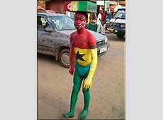 BBC NEWS In Pictures Your pics Supporting the Black Stars