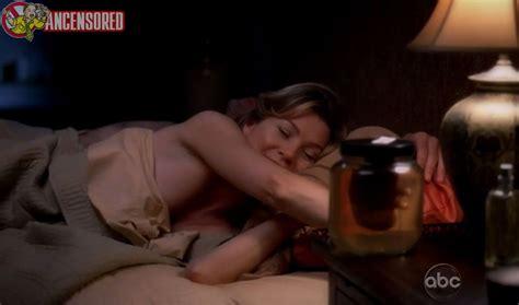Nackte Ellen Pompeo In Greys Anatomy