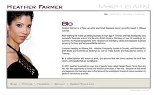 makeup artists websites makeup artist bio template makeup vidalondon