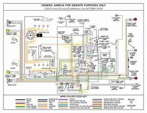 1952 52 Chevy Truck Full Color Laminated Wiring Diagram 11 U0026quot  X 17 U0026quot