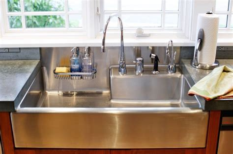 Modern Kitchen Sink Materials and Design Ideas   Farmhouse