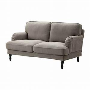 Canapé Ikea 2 Places : stocksund canap 2 places nolhaga gris beige noir ikea ~ Teatrodelosmanantiales.com Idées de Décoration