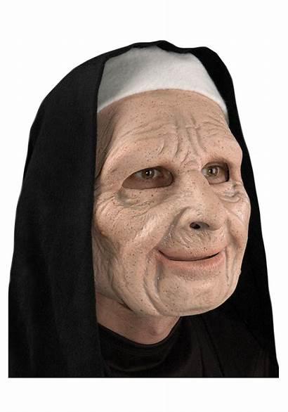Scary Mask Nun Town