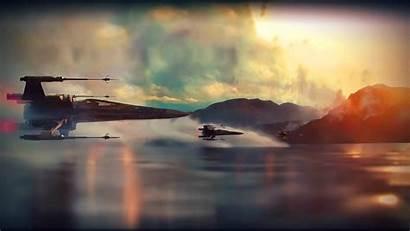 Force Awakens Wars Star Wallpapers Starwars Last