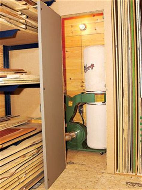enclosed dust collector  dust collector   closet