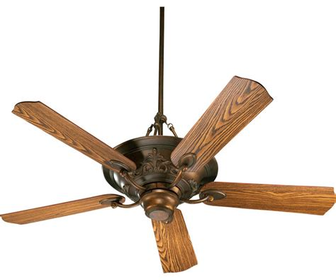 salon 56 quot traditional ceiling fan traditional ceiling