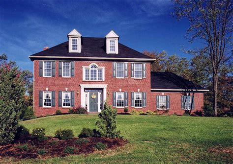 classic colonial st architectural designs house