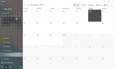 Microsoft's Mail And Calendar Apps Get New Design Changes