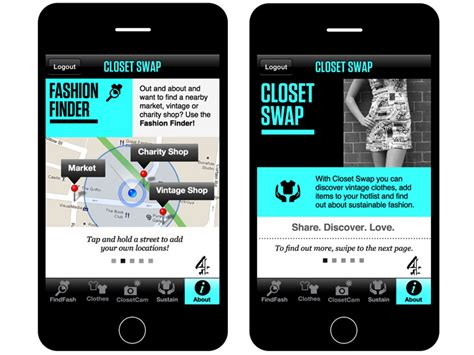 trade clothes with your friends using quot closet quot iphone