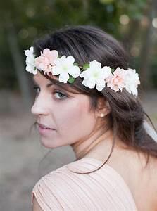 Couronne Fleur Cheveux Mariage : couronne lucy ~ Melissatoandfro.com Idées de Décoration