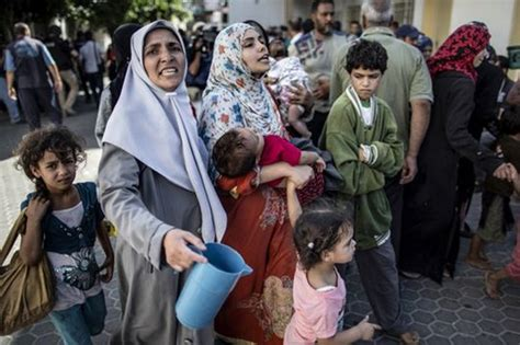 Gaza's Population Is at Great Risk, UN Agency Says