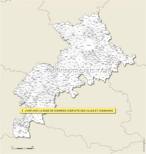 carte personnalisable des villes et communes de la haute garonne